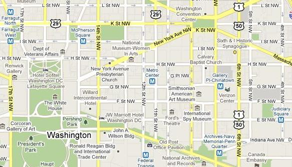 Metro stations are packed densely downtown, which helps mitigate closures. From Google.
