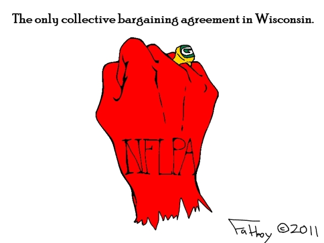 Fatboy take, March 11, 2011: Wisconsin's solidarity