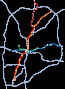 MARTA's map.